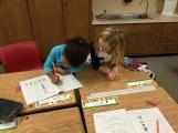 Sra Gallo's class -- team work at Pleasant View!